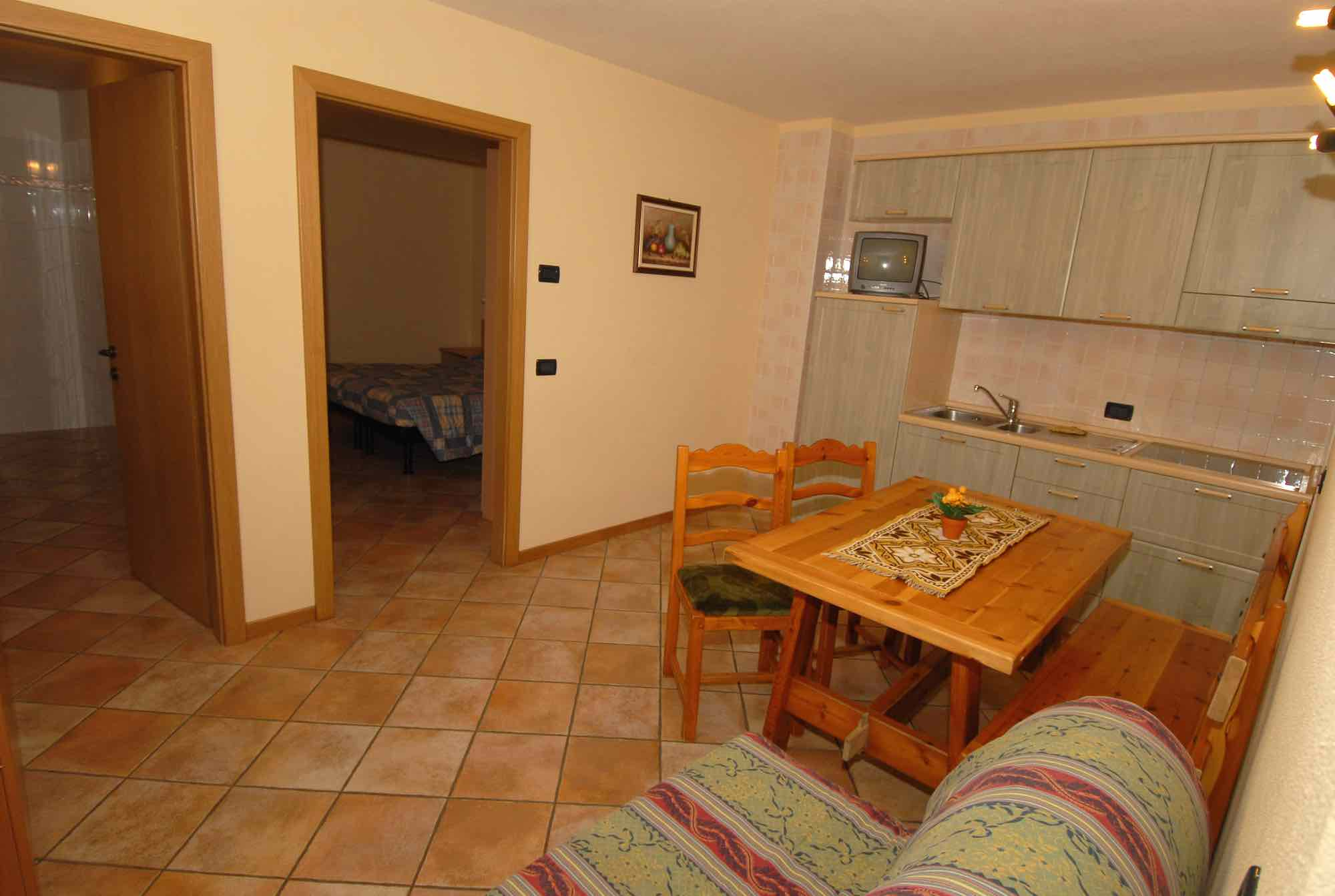 Baita Guana - Via Borch N.800, Livigno 23041 - Apartment - Taverna X2a 2